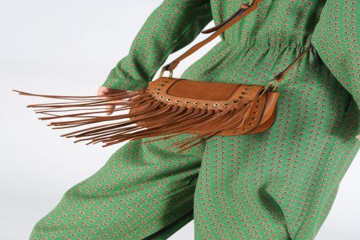 Handtaschen Pepe jeans ERIKA BAG braun ansicht von unten / tasche getragen