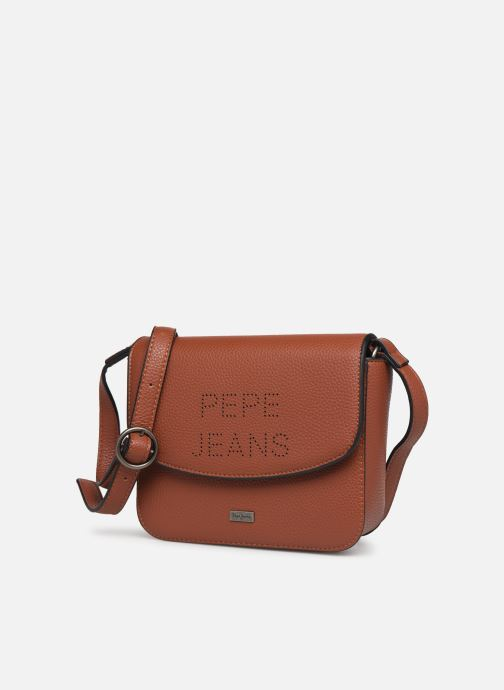 Bolsos de mano Pepe jeans AGNES BAG Marrón vista del modelo