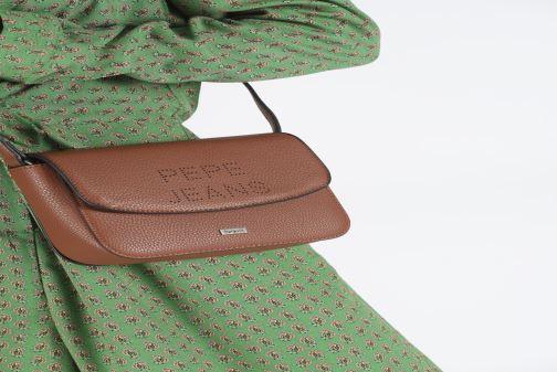 Bolsos de mano Pepe jeans AGNES BAG Marrón vista de abajo