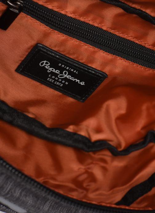 Petite Maroquinerie Pepe jeans RAW BUMBAG Noir vue derrière