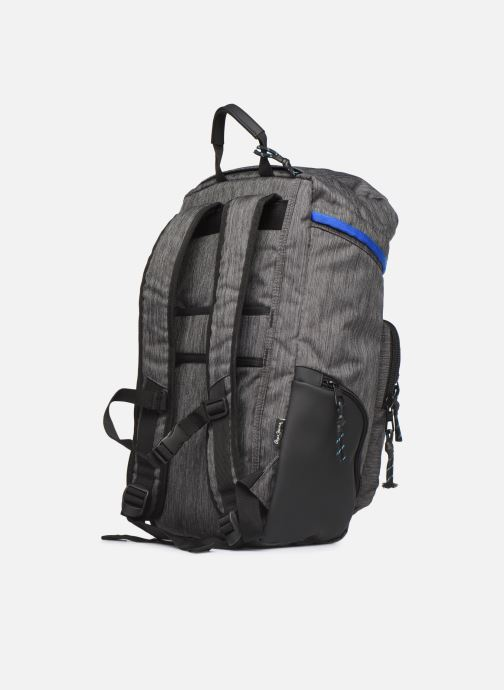 Mochilas Pepe jeans RAW ADAPTABLE BACKPACK Negro vista lateral derecha