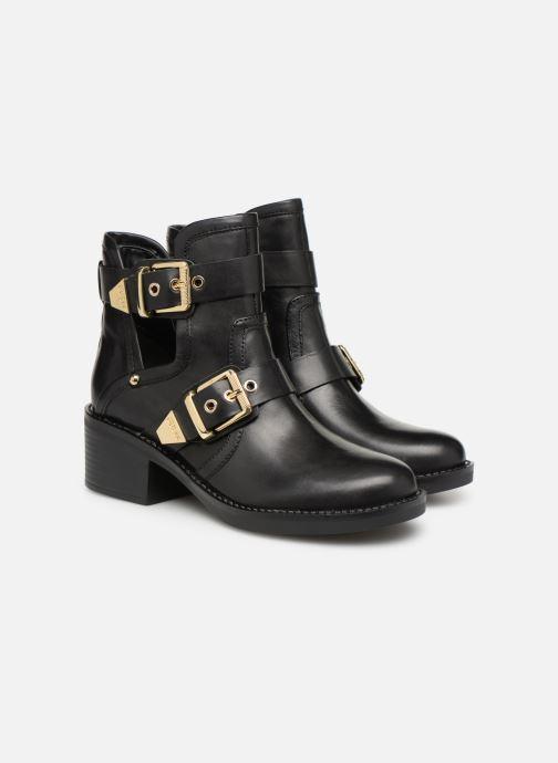 Bottines et boots Guess FONZIE Noir vue 3/4