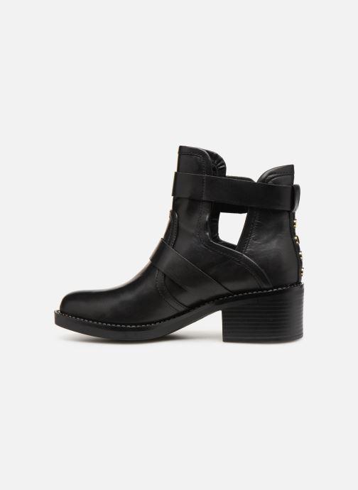 Boots en enkellaarsjes Guess FONZIE Zwart voorkant