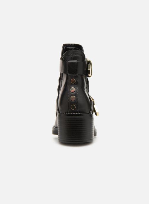 Boots en enkellaarsjes Guess FONZIE Zwart rechts