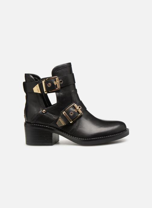 Boots en enkellaarsjes Guess FONZIE Zwart achterkant