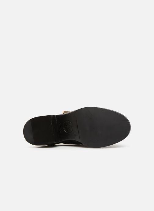 Bottines et boots Guess FONZIE Noir vue haut