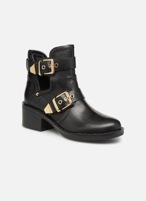 Boots en enkellaarsjes Guess FONZIE Zwart detail
