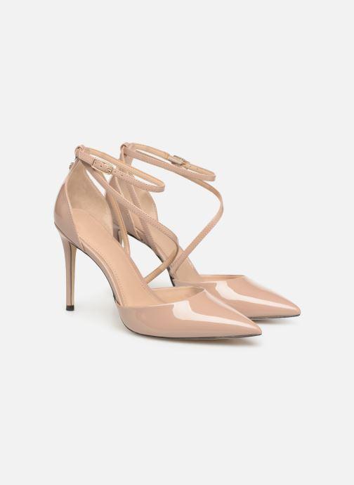 Zapatos de tacón Guess BRITEA Beige vista 3/4