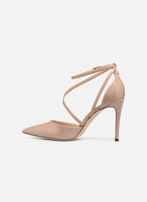 High heels Guess BRITEA Beige front view