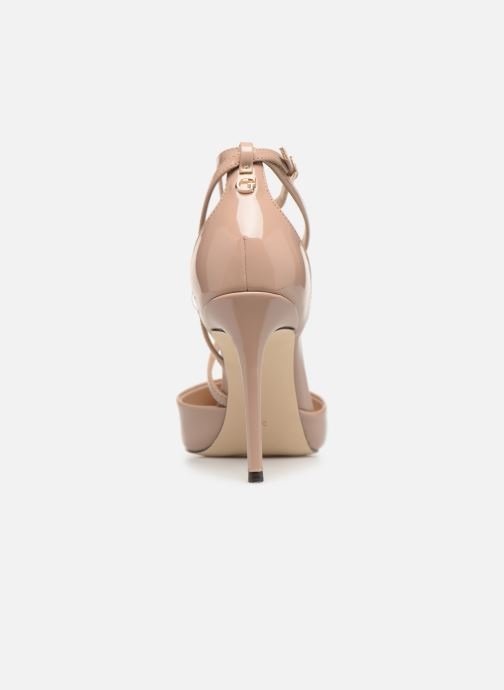 High heels Guess BRITEA Beige view from the right