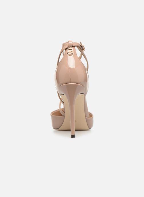 Zapatos de tacón Guess BRITEA Beige vista lateral derecha