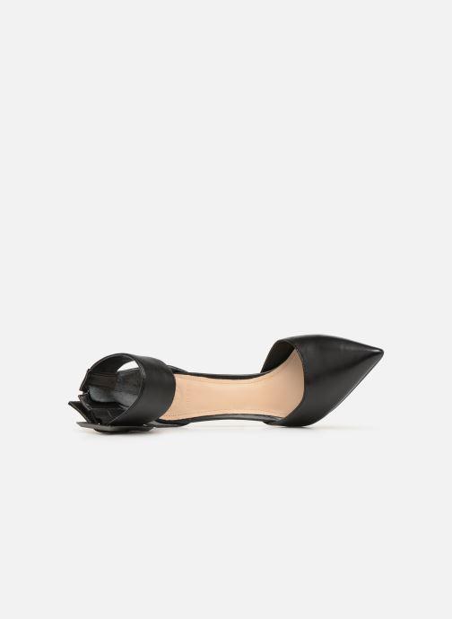 Zapatos de tacón Guess OVIE Negro vista lateral izquierda