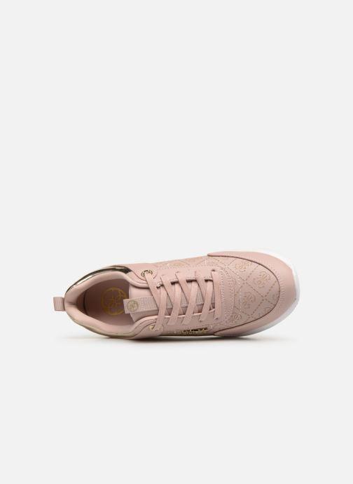 Sneaker Guess MARLYN beige ansicht von links