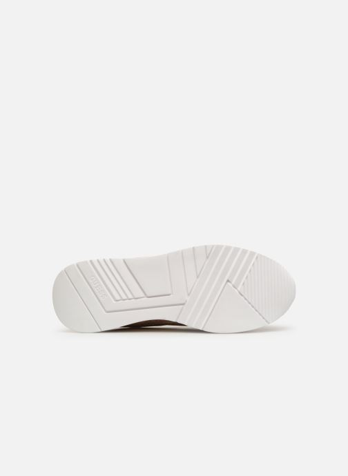 Sneaker Guess MARLYN beige ansicht von oben