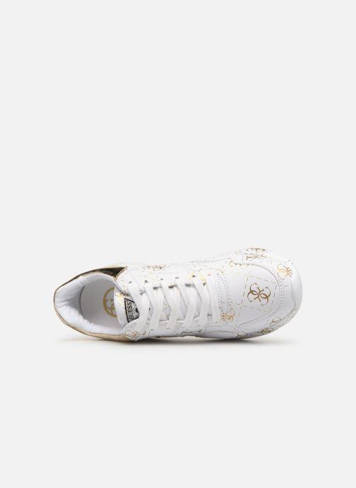 Sneaker Guess MAYLA weiß ansicht von links