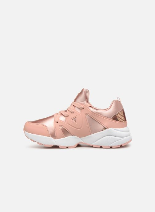 Sneakers Guess SEMI Roze voorkant