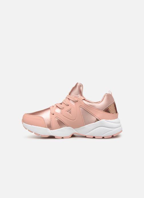 Sneaker Guess SEMI rosa ansicht von vorne