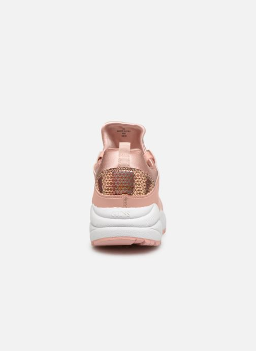 Sneaker Guess SEMI rosa ansicht von rechts