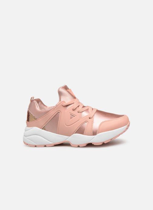 Sneaker Guess SEMI rosa ansicht von hinten