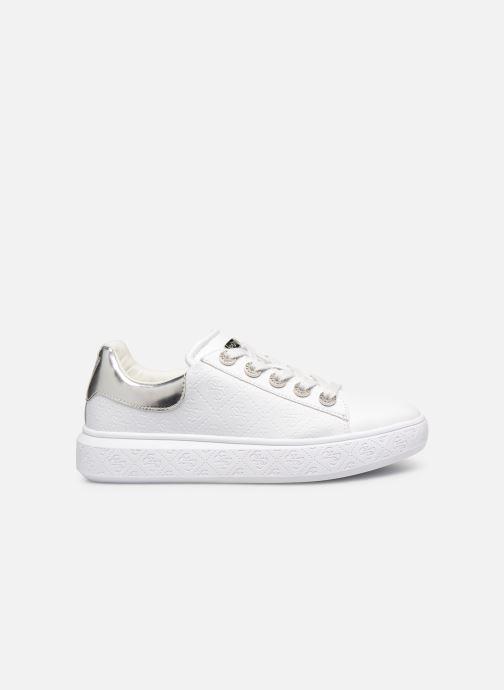 Sneaker Guess BUCKY weiß ansicht von hinten
