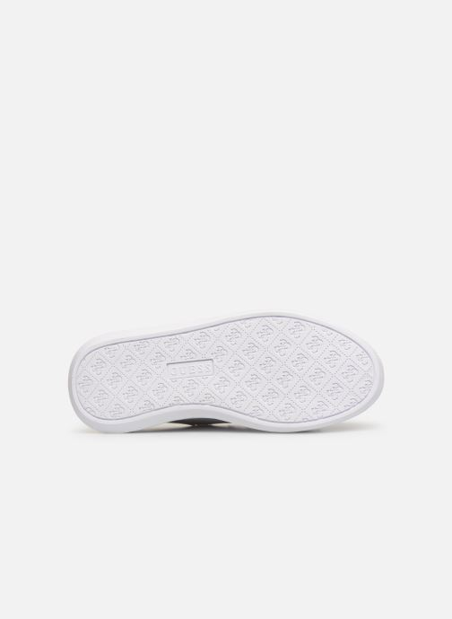Sneaker Guess BUCKY weiß ansicht von oben