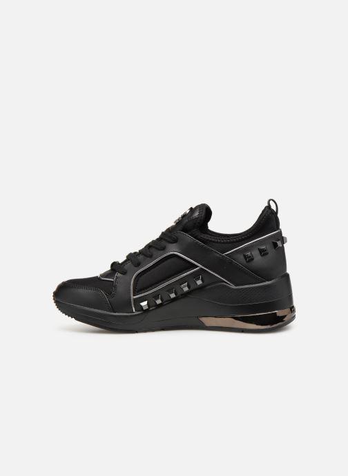 Sneaker Guess JULYANN schwarz ansicht von vorne