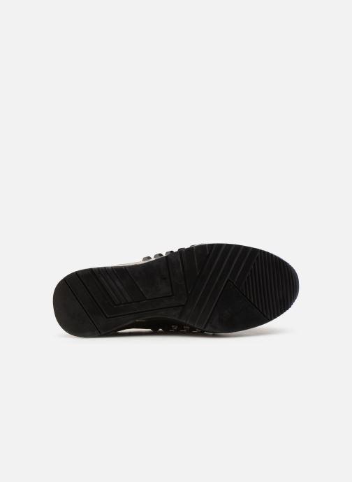 Sneaker Guess JULYANN schwarz ansicht von oben