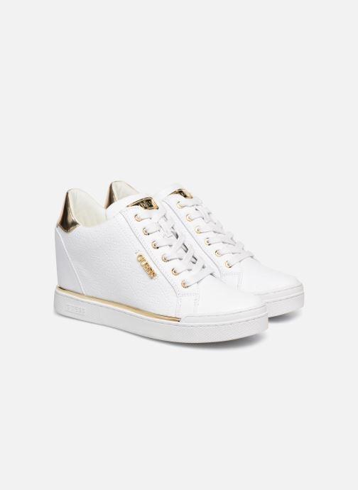 Sneaker Guess FLOWURS weiß 3 von 4 ansichten