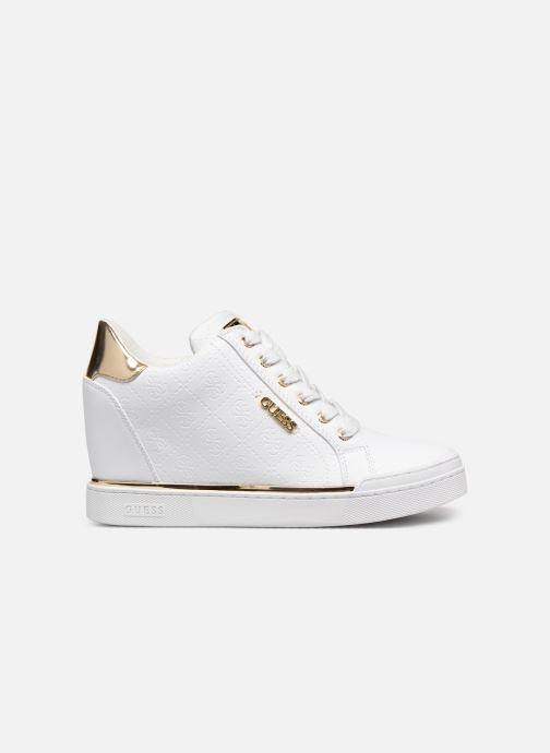 Sneaker Guess FLOWURS weiß ansicht von hinten