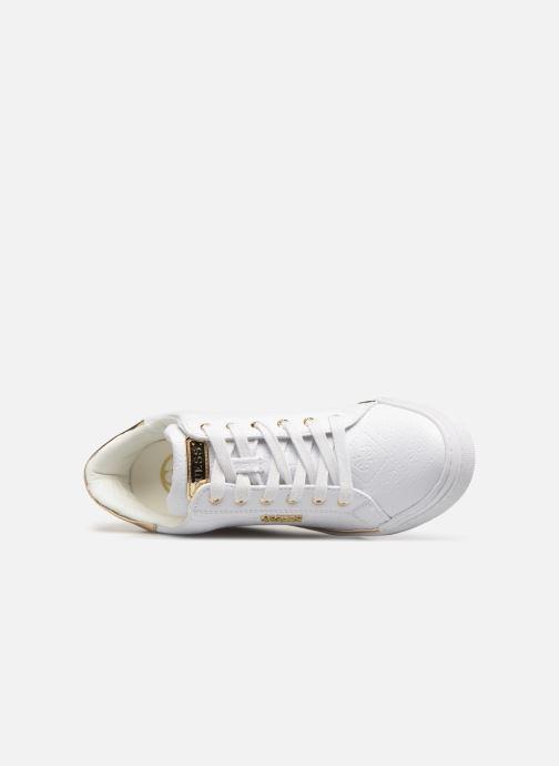 Sneaker Guess FLOWURS weiß ansicht von links