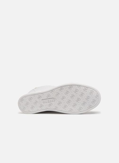 Sneaker Guess FLOWURS weiß ansicht von oben