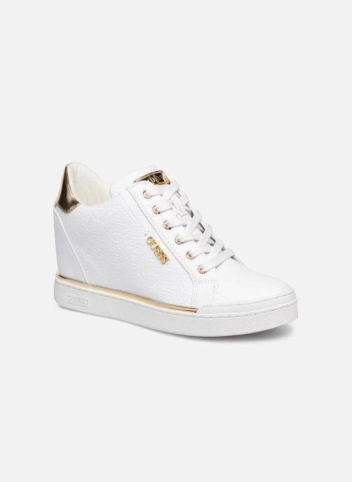 Sneaker Guess FLOWURS weiß detaillierte ansicht/modell