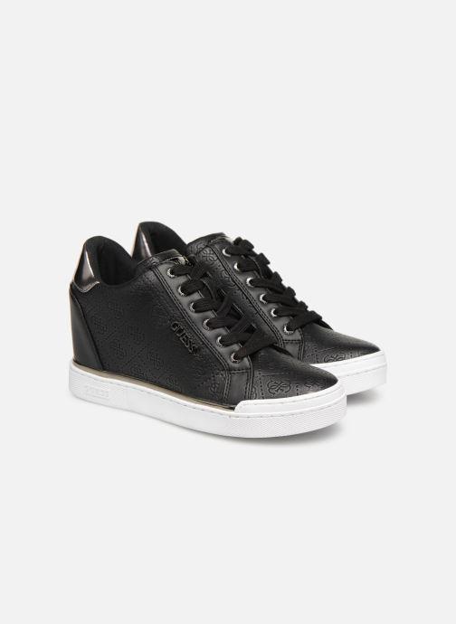 Sneaker Guess FLOWURS schwarz 3 von 4 ansichten