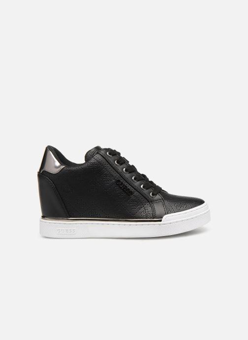 Sneaker Guess FLOWURS schwarz ansicht von hinten