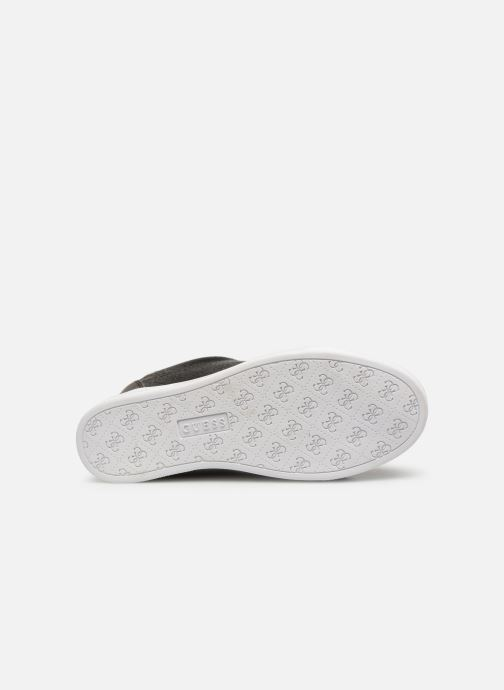 Sneaker Guess FLOWURS schwarz ansicht von oben