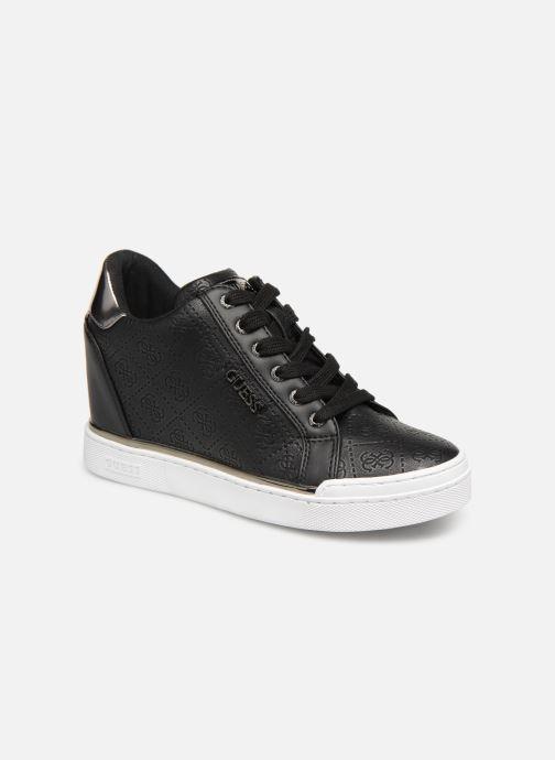 Sneaker Guess FLOWURS schwarz detaillierte ansicht/modell