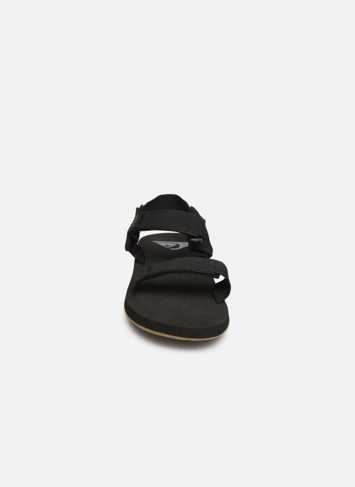 Sandals Quiksilver Monkey Caged Black model view