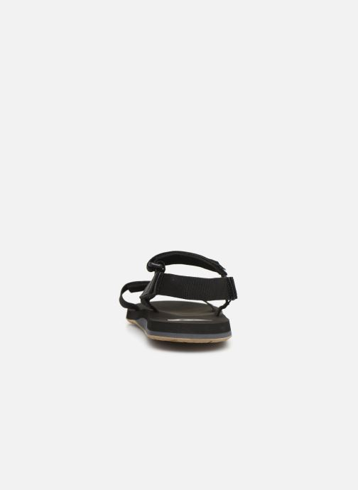 Sandals Quiksilver Monkey Caged Black view from the right
