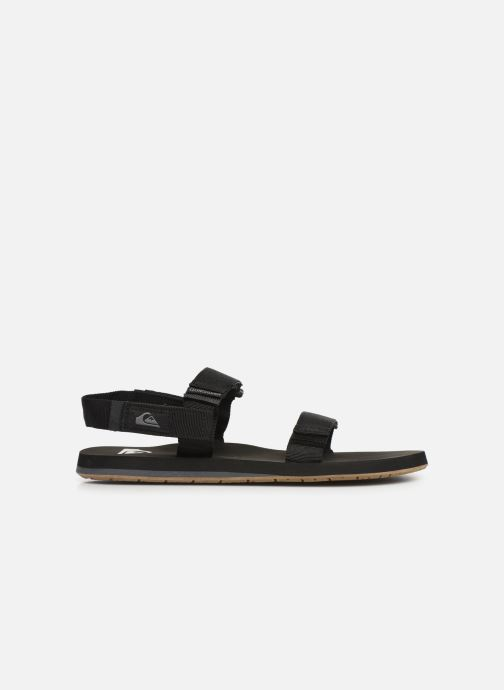 Sandals Quiksilver Monkey Caged Black back view