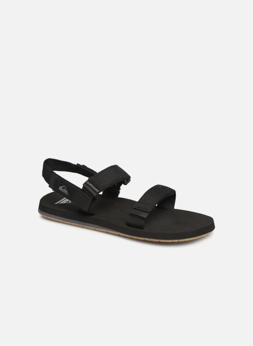 Sandals Quiksilver Monkey Caged Black detailed view/ Pair view