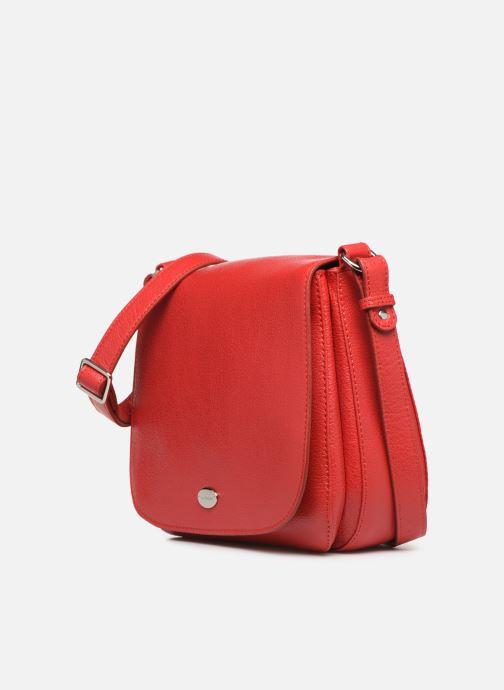 Handtaschen Mac Douglas KNOX BUNI M rot schuhe getragen