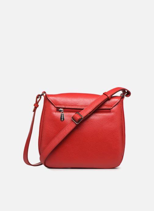 Handtaschen Mac Douglas KNOX BUNI M rot ansicht von vorne