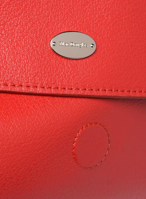Handtaschen Mac Douglas KNOX BUNI M rot ansicht von links