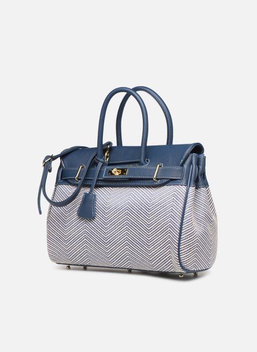 Handtaschen Mac Douglas PYLA FANTASIA XS blau schuhe getragen