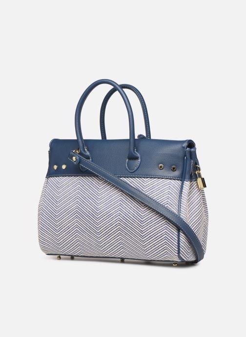 Handtaschen Mac Douglas PYLA FANTASIA XS blau ansicht von rechts