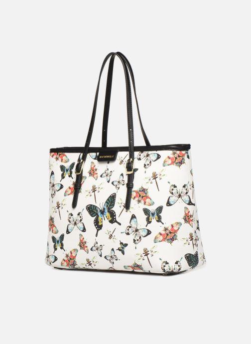 Handtaschen Mac Douglas PALOMA EVERTON M weiß schuhe getragen