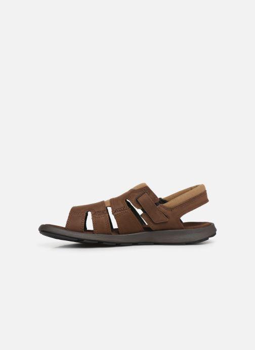 Sandales et nu-pieds Columbia Salerno Marron vue face