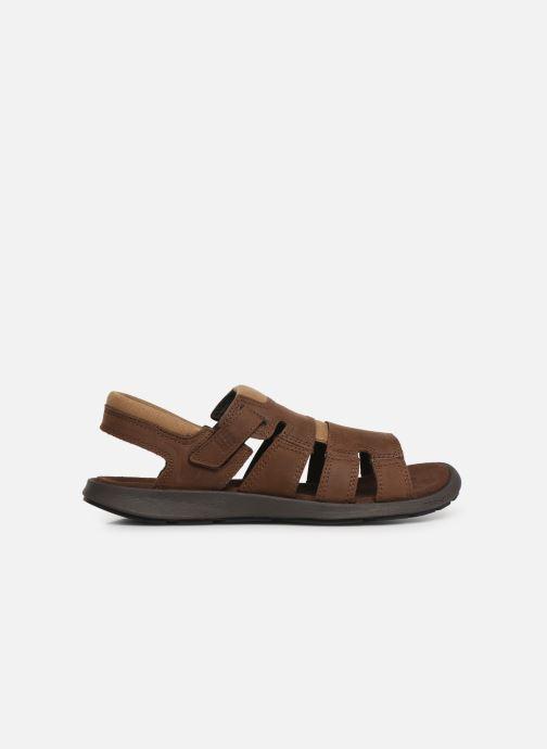 Sandales et nu-pieds Columbia Salerno Marron vue derrière
