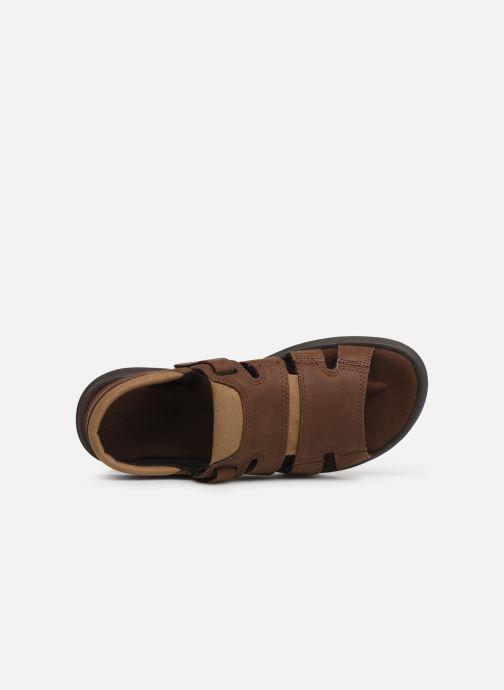 Sandales et nu-pieds Columbia Salerno Marron vue gauche