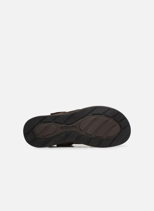 Sandales et nu-pieds Columbia Salerno Marron vue haut